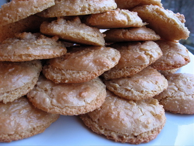 Biscuits tendres aux amandes -- Cliquez pour voir l'image en entier
